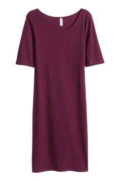 Платье из джерси в рубчик | H&M