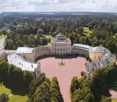 PAVLOVSK PALACE is a Neoclassical/Palladian Style Russian Palace designed by Scottish Architect Charles Cameron in 1780 for TSAR PAUL I in Pavlovsk, near Saint Petersburg.