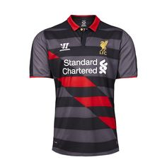 a7fb7056367 Liverpool Home and Away Kits Released + new Liverpool Third Shirt. The new Warrior  Liverpool Home Jersey is red with white details