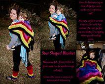 Ravelry: Slapshot Star Blankie pattern by Lauren Madison