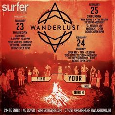 Wanderlust O'ahu at Surfer [THE BAR] - http://fullofevents.com/hawaii/event/wanderlust-oahu-at-surfer-the-bar-2/