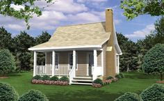 The Outdoorsman 5348 - 1 Bedroom and 1.5 Baths | The House Designers