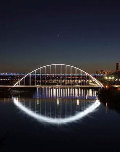 Loves this shot of the Walterdale bridge! I Am Canadian, Canada Eh, Take The Opportunity, Our Town, True North, Alberta Canada, Sydney Harbour Bridge, British Columbia, Bridges