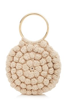 Click product to zoomLia Tote by Ulla Johnson This **Ulla Johnson** bag is rendered in hand crocheted cotton and features dual rounded top handles. Crochet Market Bag, Crochet Handbags, Crochet Purses, Knit Or Crochet, Crochet Bags, Macrame Bag, Handmade Handbags, Arm Knitting, Ulla Johnson
