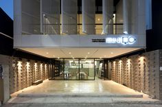 INEX design builds mu-a, a tranquil dessert café above downtown daegu