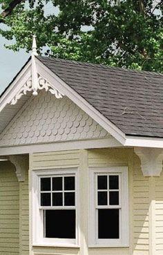 Corbels #2 exterior architechural detail dollhouse trim