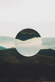 Circle Art Print by Adrian Lungu Photomontage, Minimalism Living, Landscape Photography, Art Photography, Image Deco, Photo Images, Circle Art, Grafik Design, Graphic Design Inspiration