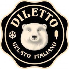 diletto gelato italiano - logo
