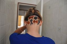 My hair ála puzzle