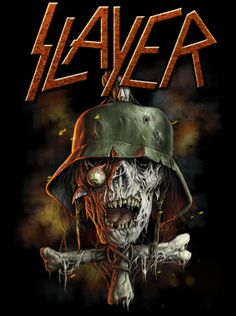 Slayer on Behance by Jonathan Bergeron