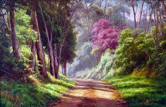 pintura rosas tela - Pesquisa Google