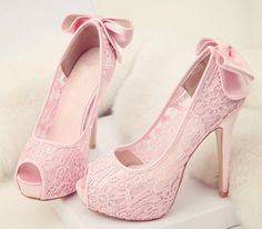 Pink heels ♡ @owlprincessss