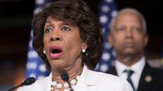 "When you're, say, reading a book about politics, and suddenly interrupted by a man who ""hasn't read that one"" but would like to supplement your reading with all of the information he's heard related to it–maybe this was last week, and maybe this was a book about Russia (okay, this is a specific scenario)–do as Maxine Waters does. Look him in the eye blankly, and state, over and over:"