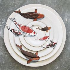 We are a South African ceramics studio based in Cape Town specialising in Bespoke dinnerware for restaurants, chefs, shops, game farms, boutique hotels and individuals. All our dinnerware and ceramics are handmade. Ceramic Plates, Ceramic Pottery, Ceramic Art, Assiette Design, Crackpot Café, Cerámica Ideas, Keramik Design, Fish Plate, Plate Art