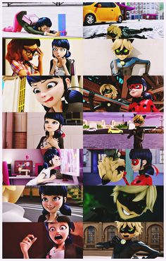 blacksheepdami: Similarities between Marinette & Chat Noir