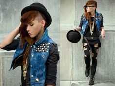This makes me want to do an undercut hairstyle so badly...