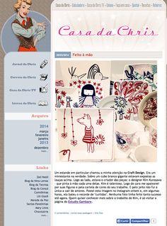 [ Março   2014 ]  O Blog Casa da Chris postou uma matéria sobre o Estudio Gambare na Feira Craft Design.  Ficamos super felizes e muito agradecidos pelo texto lindo   (Blog Casa da Chris: http://casadachris.uol.com.br/blog/?id=2217)