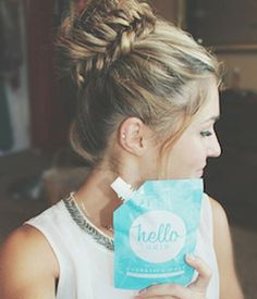 Keep split ends away with Hello Hair Hydrating Mask Cool Braids, Amazing Braids, Hydrating Hair Mask, Hello Hair, Hair Products Online, Natural Haircare, Split Ends, Bad Hair Day, Hair Inspo