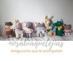 Hermosos muñequitos tejidos al crochet para hacerte compañía. Visita nuestro blog para ver más amigurumis y todo lo que hacemos. Teddy Bear, Toys, Blog, Animals, Hand Made, Amigurumi, Manualidades, Activity Toys, Animales