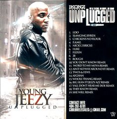 """The Young Jeezy Collection"" - Unplugged Hip Hop OFFICIAL Mixtape CD"