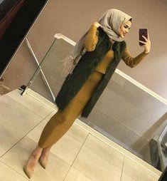 Image may contain: 1 person, indoor .:separator:Image may contain: 1 person, indoor . Hijab Dress Party, Hijab Style Dress, Hijab Outfit, Chic Dress, Turkish Fashion, Islamic Fashion, Muslim Fashion, Stylish Hijab, Hijab Chic