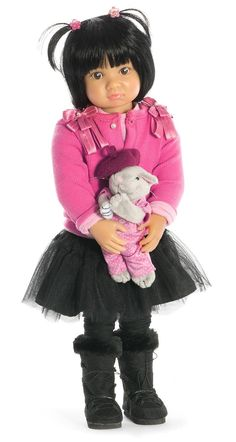 The long awaited Miu is now in stock with longer hair than the photo suggests. Her hair quality and outfit are amazing! £104.99 age 6+  http://www.petalinadolls.co.uk/dolls/kidz-n-cats-miu-doll.htm?brand_0=kidz-n-cats-brand