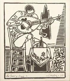 Boy Playing Bouzouki John Craxton 1922-2009
