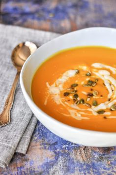 Thermomix recipe: Silky Smooth Pumpkin Soup with Roasted… | Tenina