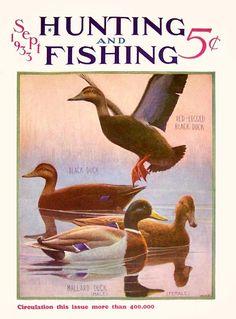 Hunting and Fishing 1933-09