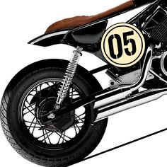 A quick transformation of a classic Yamaha XV250 into a custom cafe racer.