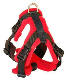 Dog-games Perfect Fit Harness - I have tried a lot of different collars, leads and harness and these are the best ones. They are available in lots of different size combinations to fit every size and shape of dog. My lot all have an extra front-attachment ring which makes the harness into a no-pull dog harness. Brilliant!