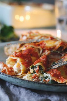 Rezept Cannelloni vegetarisch mit Gemüsefüllung und Ziegenfrischkäse