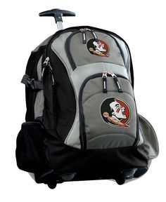 Florida State Rolling Backpack or FSU CarryOn Suitcase NCAA Luggage BAG ** Learn more by visiting the image link.