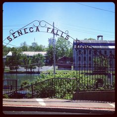 Seneca falls, NY  This is right beside her apt.
