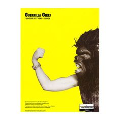 Bring some Guerrilla Girls activism into your life with this ironic Advantages of Being a Woman Artist tea towel Linen and cotton blend, gift packaged. Girl Artist, Art Girl, Gorilla Mask, Guerrilla Girls, Activist Art, Gcse Art Sketchbook, Political Posters, Girl Posters, Sweet Notes