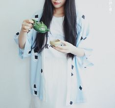 Lost in Kyoto collection light blue onigiri by PurpleFishBowl2