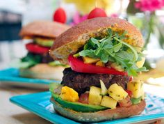 Ditch ketchup and opt for fresh salsa on burgers.