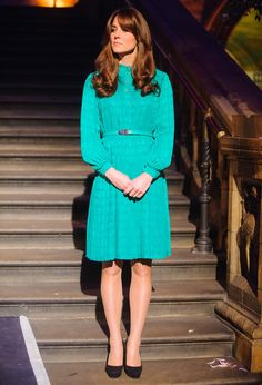 Kate Middleton Photo - The Duchess Of Cambridge Opens The Natural History Museum's Treasures Gallery