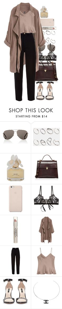 """Untitled #9414"" by nikka-phillips ❤ liked on Polyvore featuring Yves Saint Laurent, ASOS, Marc by Marc Jacobs, Marni, Black Apple, Hanky Panky, Topshop, WithChic, Chanel and Etro"