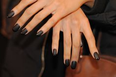 Matte Essie Nails Toronto Fashion Week F/W 2013 #essiecanada #essie