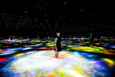 When you stand among the handiwork of teamLab, a Japanese tech art studio, you're seemingly transported to a sprawling foreign land…