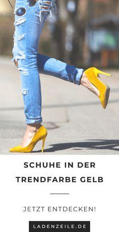 5732a702f12822 Gelbe Schuhe auf LadenZeile.de – Du willst mehr über die Trendfarbe Gelb  und wie