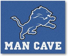 Use the code PINFIVE to receive an additional 5% discount off the price of the Detroit Lions NFL Man Cave Tailgate Rug at sportsfansplus.com