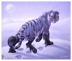 """Snow leopard in body, wolf in spirit... I have a little magnet about the totem animal wolf, which contains that phrase """"Wolf - Know that you will be protected"""". I always wanted to do a picture dedi..."""