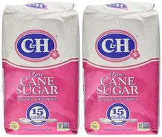 CandH, Cane Sugar, Granulated White, 4 Pound Bag (Pack of 2) * Discover this special product, click the image