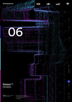 Karol Gadzala on Behance Graphic Design Posters, Graphic Design Inspiration, Vector Graphics, Vector Free, Technology Posters, Cellphone Wallpaper, Interface Design, Visual Effects, Data Visualization