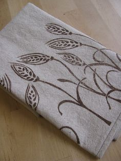 Block Print Tea Towel