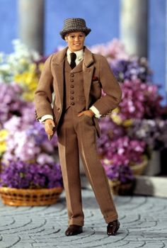 Henry Higgins Ken doll for a natty 1/6 scale suit.
