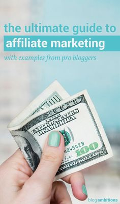 20 tips to help you get started with affiliate marketing. Start making money on your blog today.
