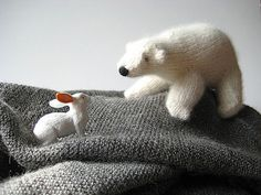 Ravelry: Peabey the Polar Bear pattern by Snowden Becker